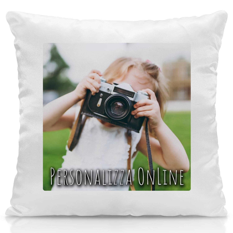 Cuscino Personalizzato con foto Stampa parziale