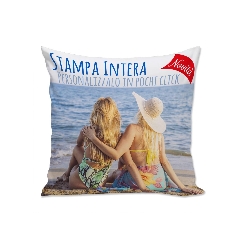 Cuscino Personalizzato Full Print 40cm Bianco