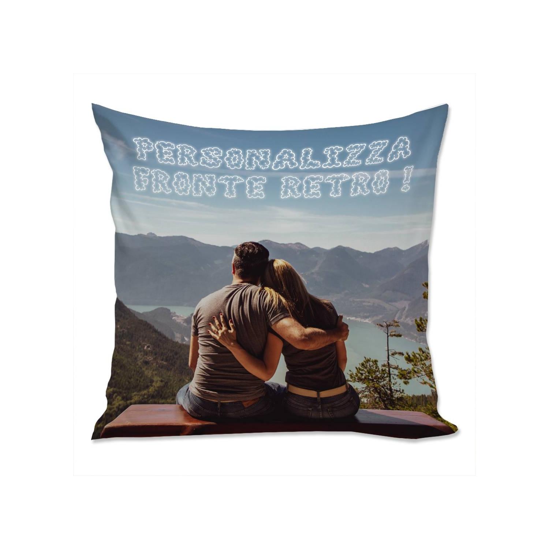 Cuscino Personalizzato con 2 Foto