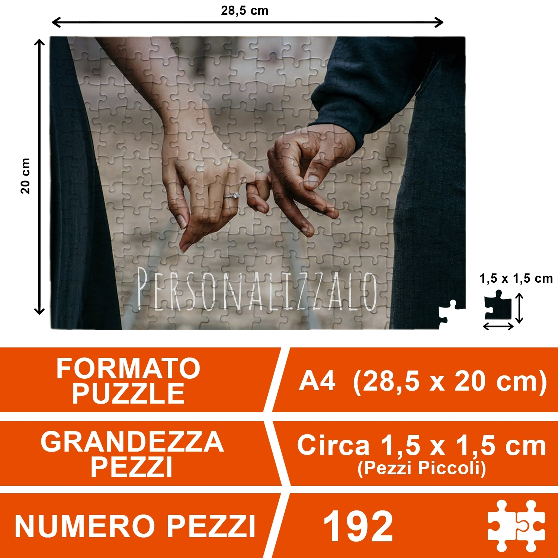 Puzzle A4 192 Pezzi